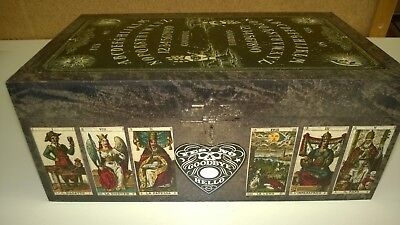 Handmade ONE OF A KIND Cedar Box (Ouji, Tarot, Fortune Teller, Occult, New Age)