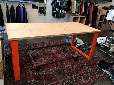 Dining Table, Table, Modern, Solid Wood, 2 Available.