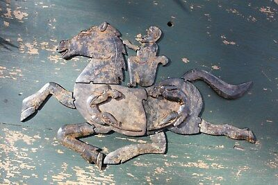 Chinese Jade Jigsaw Monkey on the horse, Warring States period 403-221 BC(?)
