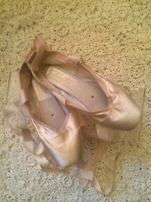 Grishko Pink Fouette Pointe Shoes - Size  5 XXX M