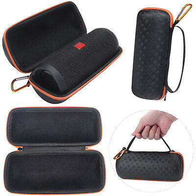 PU + EVA Travel Carry Storage Bag Case Pouch For JBL Flip 4 Bluetooth Speaker