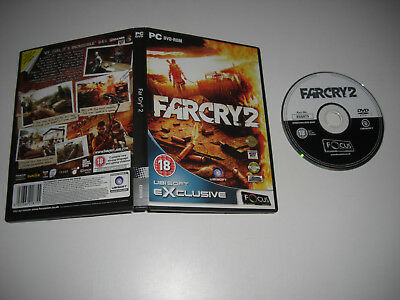 FAR CRY 2 Pc DVD Rom FO - FAST POST