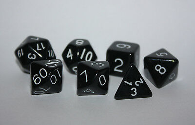 Würfel-Dice-Gem W20,12,10,8,6,4,00-Rollenspiel-Lifecounter-Tabletop-uni-d20-Neu