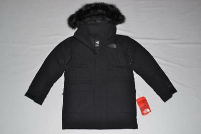 THE NORTH FACE BOYS McMURDO DOWN PARKA BLACK SIZE L LARGE 14/16 BRAND NEW