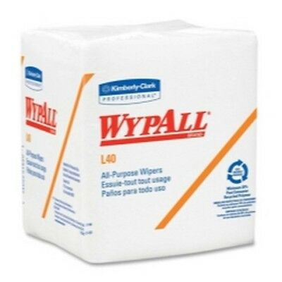 Wypall L40 Quarterfold Wipers, White, Case of 18 packs KIM05701 Brand New!
