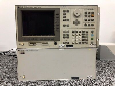 HP 4156A Semiconductor Parameter Analyzer with 41501B & 16442A