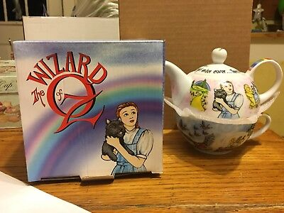 Paul Cardew Wizard Of Oz Tea For One Teapot and Cup Ball Lid Mint In Box