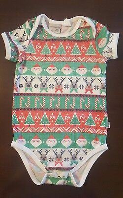 Size 2 18/24 months Peter Alexander Baby Christmas Romper/Body Suit/Top