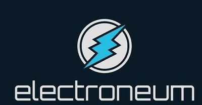 50 Electroneum ETN coins sent direct to your wallet address