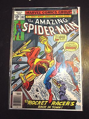 Amazing Spider-Man #182 Rocket Racer's back in town VG