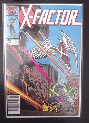 X-Factor #3 Canadian Newsstand edition HTF 1985 FN-