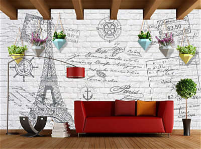 Moist Vivid Tower 3D Full Wall Mural Photo Wallpaper Printing Home Kids Decor