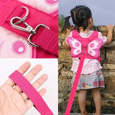 Baby Kids Toddler Butterfly Walking Safety Harness Leash Anti-Lost Strap Harness