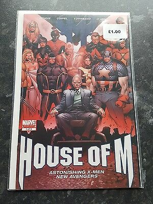 House of M #1 Astonishing X-men New Avengers Marvel Comic
