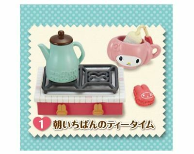 Re-ment Dollhouse Miniature My Melody Kitchen #1 Stove Hot Pot Cup Cooking NEW