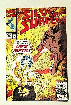 Silver Surfer #65, May 92, Marvel, Vf+ 8.5, Uncertified