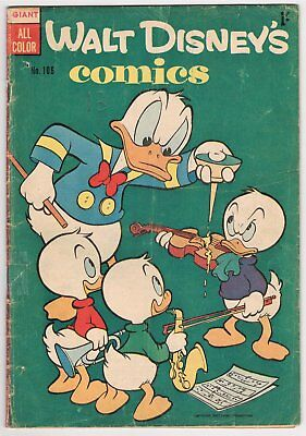 AUSTRALIAN WALT DISNEY'S COMIC No.106 - GOOD - 1955