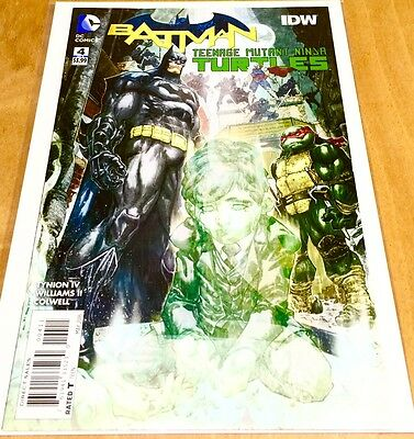 BATMAN TEENAGE MUTANT NINJA TURTLES #4 (2016) Comic Book 1st PRINT!!! - SOLD OUT