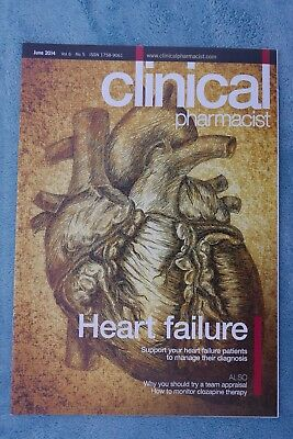 Clinical Pharmacist Magazine, Vol.6, No,5, June 2014, Heart Failure, Clozapine
