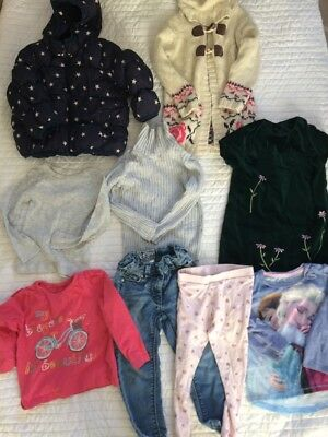 Girls Bundle 2-3 Years Next M&S  Party Dress Frozen