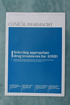 Clinical Pharmacist Magazine, Vol.8, No.2, February 2016, drug treatment of ADHD