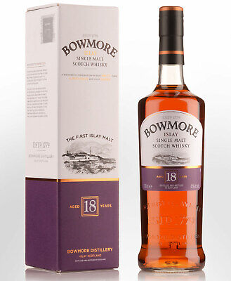 Bowmore 18 Year Old Single Malt Scotch Whisky (700ml)