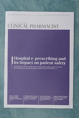 Clinical Pharmacist Magazine, Vol.8, No.5, May 2016, Hospital e-prescribing
