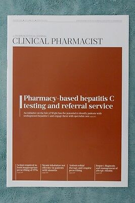 Clinical Pharmacist Magazine, Vol.8, No.8, August 2016, Hepatitis-C testing