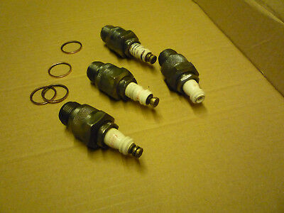 Fordson  N & E27N  Champion C5  spark plugs .Vintage tractor  Antique tractor .