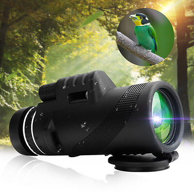 40X60 Focus Zoom Outdoor Travel Portable HD Optical Monocular Telescope Sport