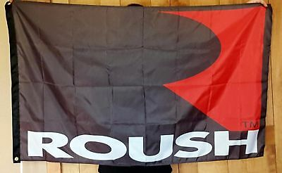 car Motor racing banner for Ford Mustang Roush Flag 3x5ft free shipping outdoors