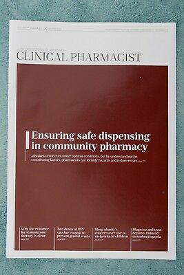 Clinical Pharmacist Magazine, Vol.9, No.7, July 2017, ensuring safe dispensing