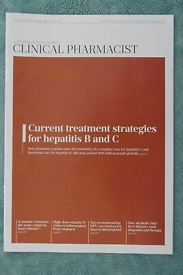 Clinical Pharmacist Magazine, Vol.9, Vol.8, August 2017, Treating Hepatitis B&C