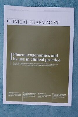 Clinical Pharmacist Magazine, Vol.9, No.10, October 2017, Pharmacogenomics