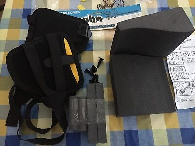 PYRANHA KAYAK OUTFITTING kit:- Connect hip pads, foam wedges
