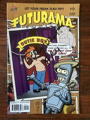 Futurama Signed Billy West Comic Book With COA And Authentic Photo
