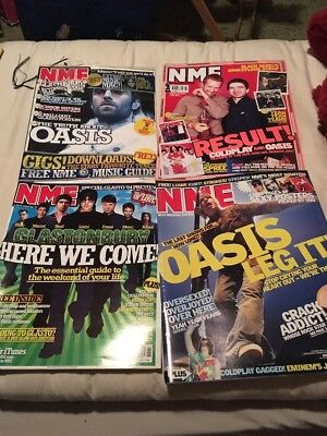 Oasis NME Magazine Liam Noel Gallagher Promo