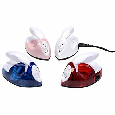 Portable Mini Electric Iron Small Compact Travel Powered Steam Clothes Crafting