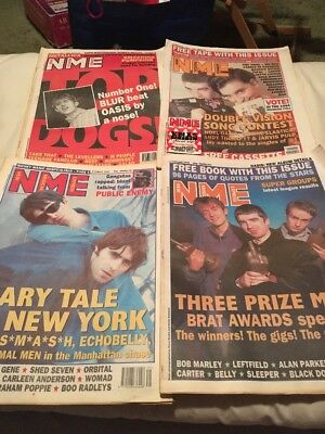 Oasis NME Magazines x 4 Liam Noel Gallagher Promo