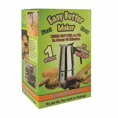 Easy Butter Magical Herbal Butter Maker - 1 Stick Fast and Easy Oil in Minutes