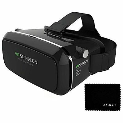 3D Vr Headset Glasses Iphone 6S Plus 5S Galaxy S5 S6 Note4 Note5 4.7 Xmas GIFT