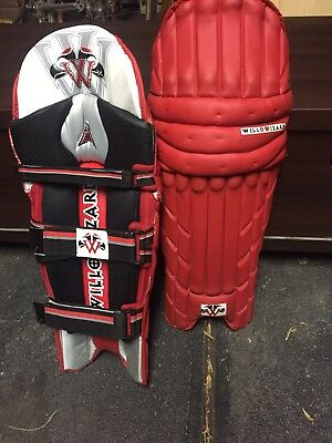 Willow Wizard Red Men's Rh Batting Pads