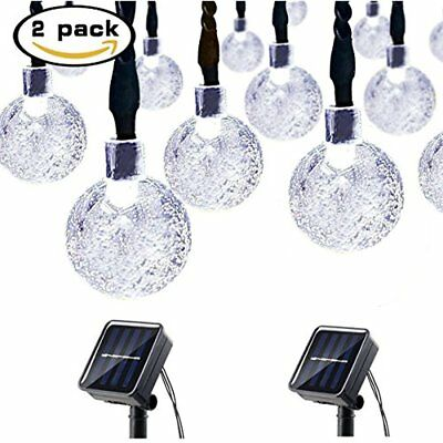 Christmas String Lights 30Led 21Ft 8 Modes Thanksgiving Day Decor Multicolor NEW