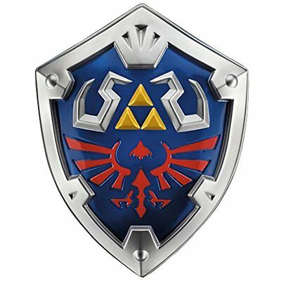 "Cosplay Costume Prop Link Hylian Shield The Legend Of Zelda 19""L X 15""W 3.5""D"