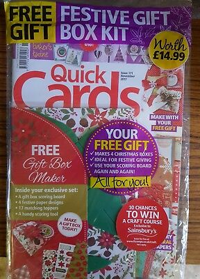 Quick Cards made easy Magazine - Issue 171- 2017 +Free Festive Gift