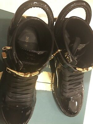 Buscemi Womens Sneakers 100MM Patent/black