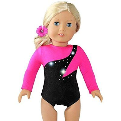 Doll Gymnastics Outfit Pink Olympic American Girl Accessory Collection Clothes