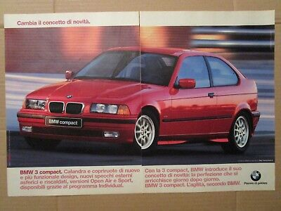 *ADVERTISING PUBBLICITA'  BMW 3 compact  -- 1997