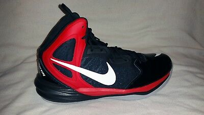 Nike Men's Prime Hype DF Basketball Shoe - NEW - FREE SHIPPING - Size 12 - Black
