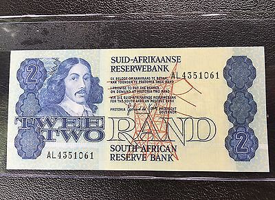 South Africa 2 Rand 1981 Pick 118 C Unc World Bank Note